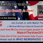 Big Iowa Radio Station Promotes Watch The Vote – Listen: 4 min audio!