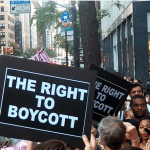 Israel Anti-Boycott Act (S. 720) calls for criminal penalty of $1 million and 20 years in prison